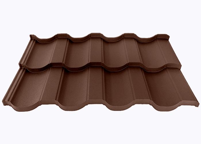 Шоколадно-коричневый RAL 8017 Мат